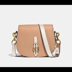 Coach Saddle in Colorblock- Women's
